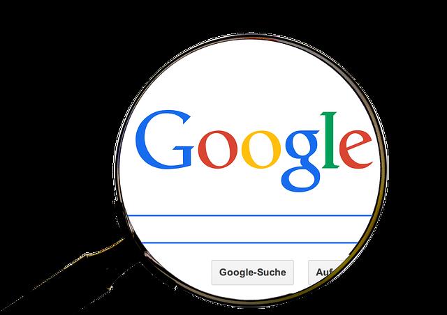lupa, která směřuje na Google vyhledávání.jpg