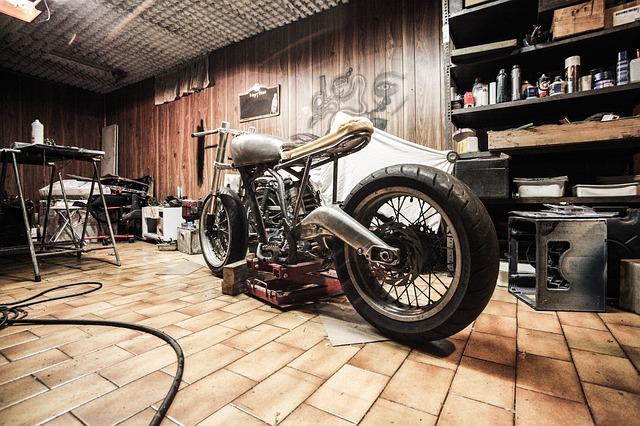technický stav motocyklu